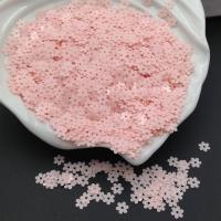 Пайетки Италия Цветок-5мм нежно-Розовый глянец (3344); 3 грамма