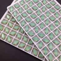 Кристалл Лодочка 10*5мм - Pacific Opal - В ОПРАВЕ