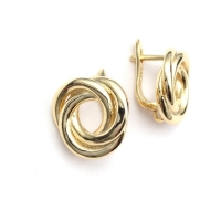 Швензы 3 кольца, цвет золото