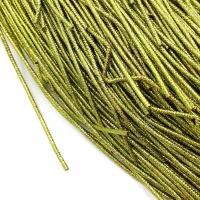 Упругая Канитель 1,6мм; 5гр.; золото-зелёный