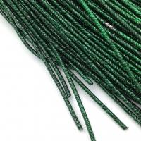 Упругая Канитель 1,6мм; 5гр.; зелёный-чёрный