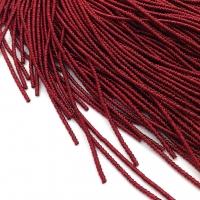 Фигурная Канитель Бамбук 2.1мм; 5гр.; тёмно-Бордовый