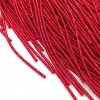 Фигурная Канитель Бамбук 2.1мм; 5гр.; Коралловый красный