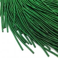 Фигурная Канитель Бамбук 2.1мм; 5гр.; зелёный
