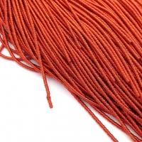 Фигурная Канитель Бамбук 2.1мм; 5гр.; Морковный