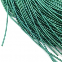 Упругая Канитель 1,6мм; 5гр.; Зелёный-бирюза
