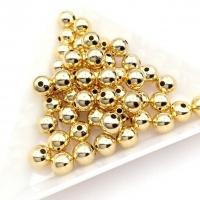 6мм -10 бусин- Бусина разделитель; цвет золото