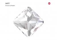 Swarovski Подвеска Ромб 16мм Crystal (6431)