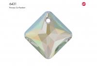 Swarovski Подвеска Ромб 9мм Crystal AB (6431)