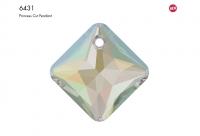 Swarovski Подвеска Ромб 16мм Crystal AB (6431)