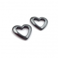 Керамика Чёрная - Сердце 14мм