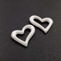 Керамика Белая - Сердце 20мм