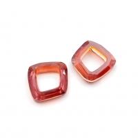 Swarovski - Cosmic Square Ring (арт.4437) Red Magma