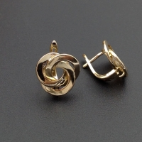 Швензы 3 кольца 15мм; золото