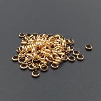 Кольцо-спейсер 4.5*1.2мм, цвет Золото; 20 штук