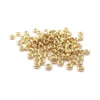 Спейсер 4*1.8мм, цвет золото; 20 штук