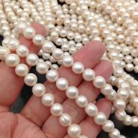 Бусина натуральный белый Перламутр, Квадрат 12мм