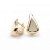 Швензы Фри форм Треугольник 17.5*10.4мм, цвет золото