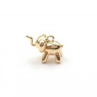 Подвеска маленький Слоник Дамбо, цвет золото