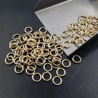 Соединительное колечко размер 6*1мм, 3 грамма; цвет золото