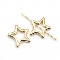 Бусина Звезда 16*14мм; цвет золото