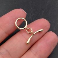 Тогл маленький; кольцо 10мм; цвет золото