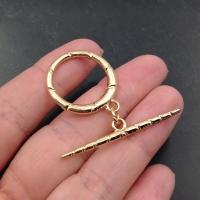 Крупный Тогл Кольцо 24мм; цвет золото