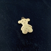 Подвеска Мишка Тоус Medium 17.5*11.5мм; цвет золото