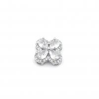 Крупная Бусина-Коннектор Солнце, цвет золото