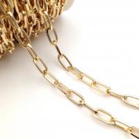 Цепь: Звено Овал 15*8мм; 50см, цвет золото