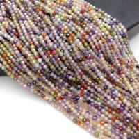 Фианит ювелирной огранки шар 2мм, цвет Микс