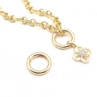 Карабин-Бейл  Кольцо 18*3мм; цвет Золото