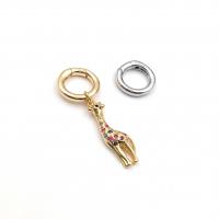 Карабин-Бейл mini Кольцо 15*2.7мм; цвет золото