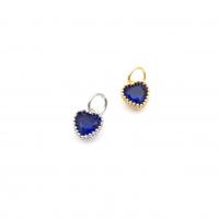Подвеска mini Цветок, с 1 Фианитом, цвет золото