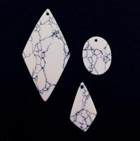 Халцедон гранёный Рондель, 4*2,5мм, 140 бусин, цвет синий