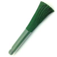 Кисть Шёлк, 9см, цвет изумруд