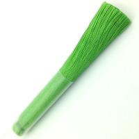 Кисть Шёлк, 9см, цвет ярко-зеленый