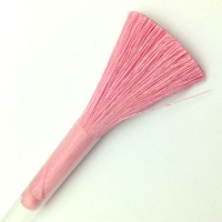 Кисть Шёлк, 9см, цвет темно-розовый