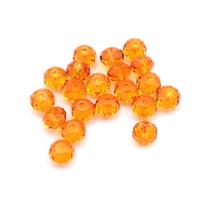 Swarovski 10 Бусин Briolette Tangerine, 4 мм (5040)
