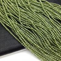 Фианит ювелирной огранки шар 2мм, цвет Пренит