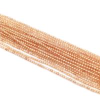 Кварц синтетический ювелирной огранки шар 1,8мм, цвет Нюд
