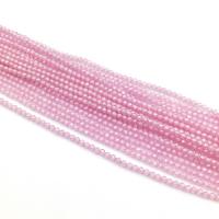 Кварц синтетический ювелирной огранки шар 1,8мм, цвет Розовый