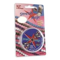 STRETCH MAGIC CORD 0.5мм; прозрачная нить для браслетов; катушка 10 метров