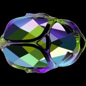 Swarovski Скарабей 5728 Crystal Scarabaeus Green/Silver Night