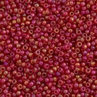 MIYUKI 15/0 Transparent Red AB (#0254); 5грамм