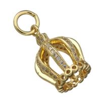 Концевик Купол, цвет золото