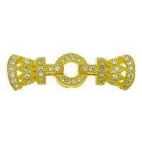 Замочек Королевский 38*12мм, цвет золото