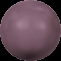 10 бусин Crystal Burgundy  Pearl