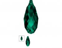 Подвеска Бриолетт 11мм Emerald (6010)