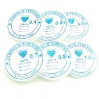 Нить эластичная силиконовая 0.4-0.8мм